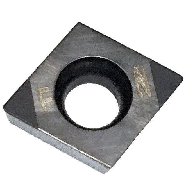 MZG 1PCS CCGW060204 2T CBN CNC Draaibank Saai Draaien Snijden Carbide Insert voor Hoge Hardheid Materiaal SDQC SDXC SDUC SDZC Houder