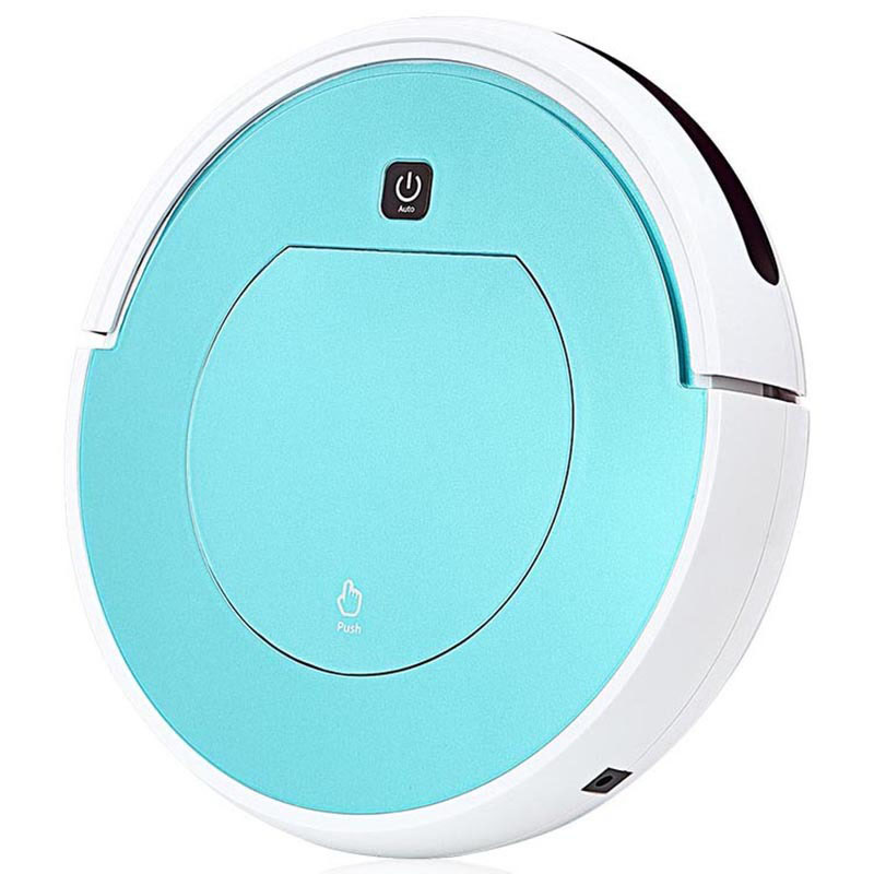 22W Home Smart Charging Sweeping Two-in-one Remote Control Automatic Sweeping One Sweeping Robot Pink Blue