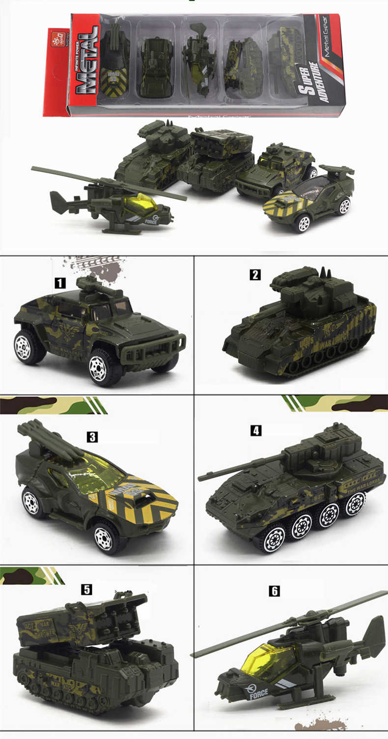kids toy car Diecast Toy Vehicles Car 1:64 Racing Farm Ambulance Green Black White Green Military Toys For Children Model Car