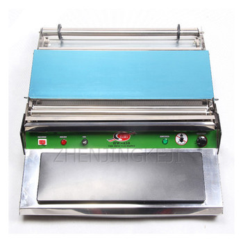 htr20q gas food oven of single deck of bakery equipment Cling Film Sealing Machine External packaging machine Food Cling Film Packaging Tool Meat Processing Plant Bakery Pack Equipment