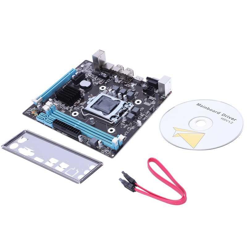 Profesjonalna płyta główna HM55 LGA 1156 DDR3 RAM USB 2.0 płyta wsparcie rdzeń I3 I5 I7 Quad CPU podwójny kanał komputer stacjonarny Mainb