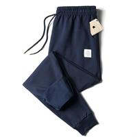 Pantalones de chándal informales de algodón para hombre, pantalones deportivos para entrenar, chándal de marca, ropa deportiva para correr, Otoño e Invierno