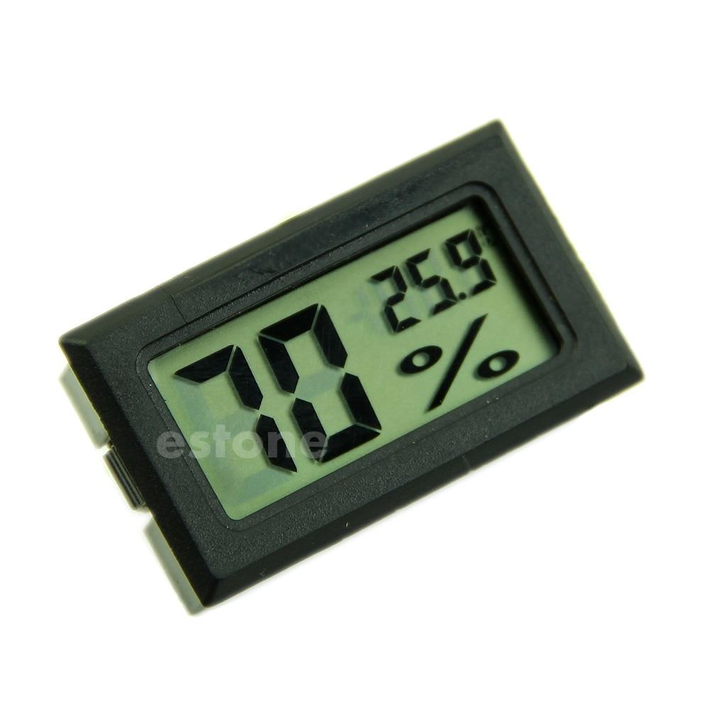 Hygrometer Thermometer Digital LCD Temperature Humidity Meter 10%~99%RH 50JF