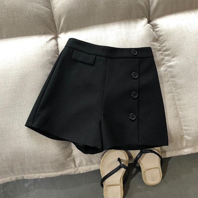 2020 New Stylr Fashion Shorts Women Sexy Biker Shorts  Gray Fitness Korean Casual Sexy Short Cotton  White