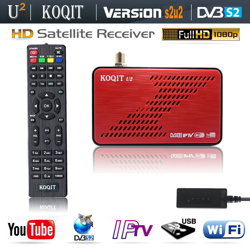 Global FTA Digital TV Box DVB-S2 Receptor Free Satellite Receiver Iptv DVB S2 Decoder Cccam/Newcam Vu Biss TV Tuner Wifi Youtube
