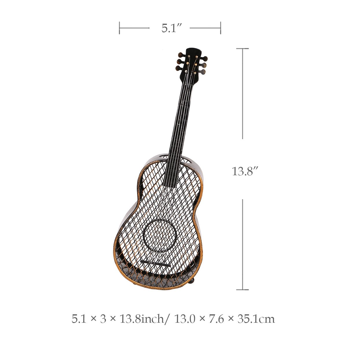 Guitar Wine Cork Container Handcrafts Home Decoration Accessories Practical Crafts
