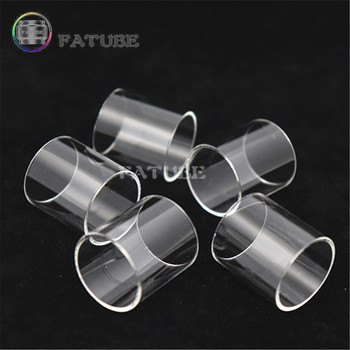 5pcs FATUBE Straight glass Cigarette Accessories for Digiflavor Siren 2 24MM 4.5ml/Siren 2 22MM 2ML/THEMIS RTA 5ML glass tube