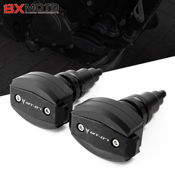 MT07 One Pair For Yamaha MT-07 MT 07 2015-2019 CNC engine Frame Sliders Crash Pad Cover Falling Protector Guard protection stand