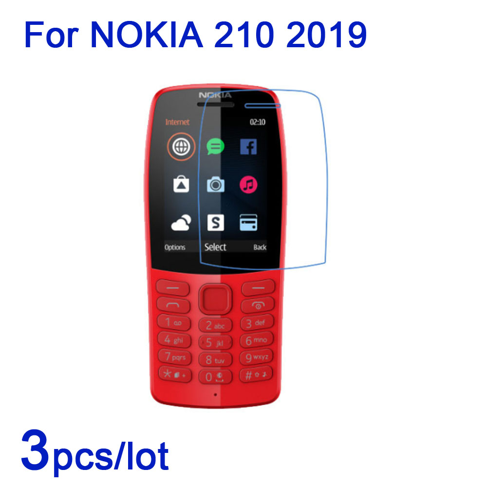 3pcs/lot Soft smart phone Screen Protectors for Nokia 210 2019 Clear/Matte/Nano Anti-Explosion Guard Film for Nokia 210 2019 LCD