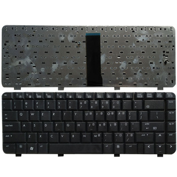 New US Keyboard for HP 6520S 6720S 540 550 BLACK Laptop keyboard image