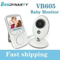VB605 Portable 2.4 Inch LCD Wireless Baby Monitor Video Radio Nanny Camera Intercom IR Bebe Cam Walkie Talk Babysitter LCD Audio