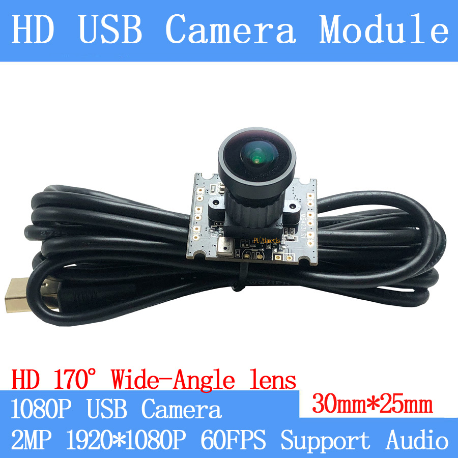 USB 2.0 HD Kameramodul 8 Megapixel IMX179 Sensor 145° Mikrofon