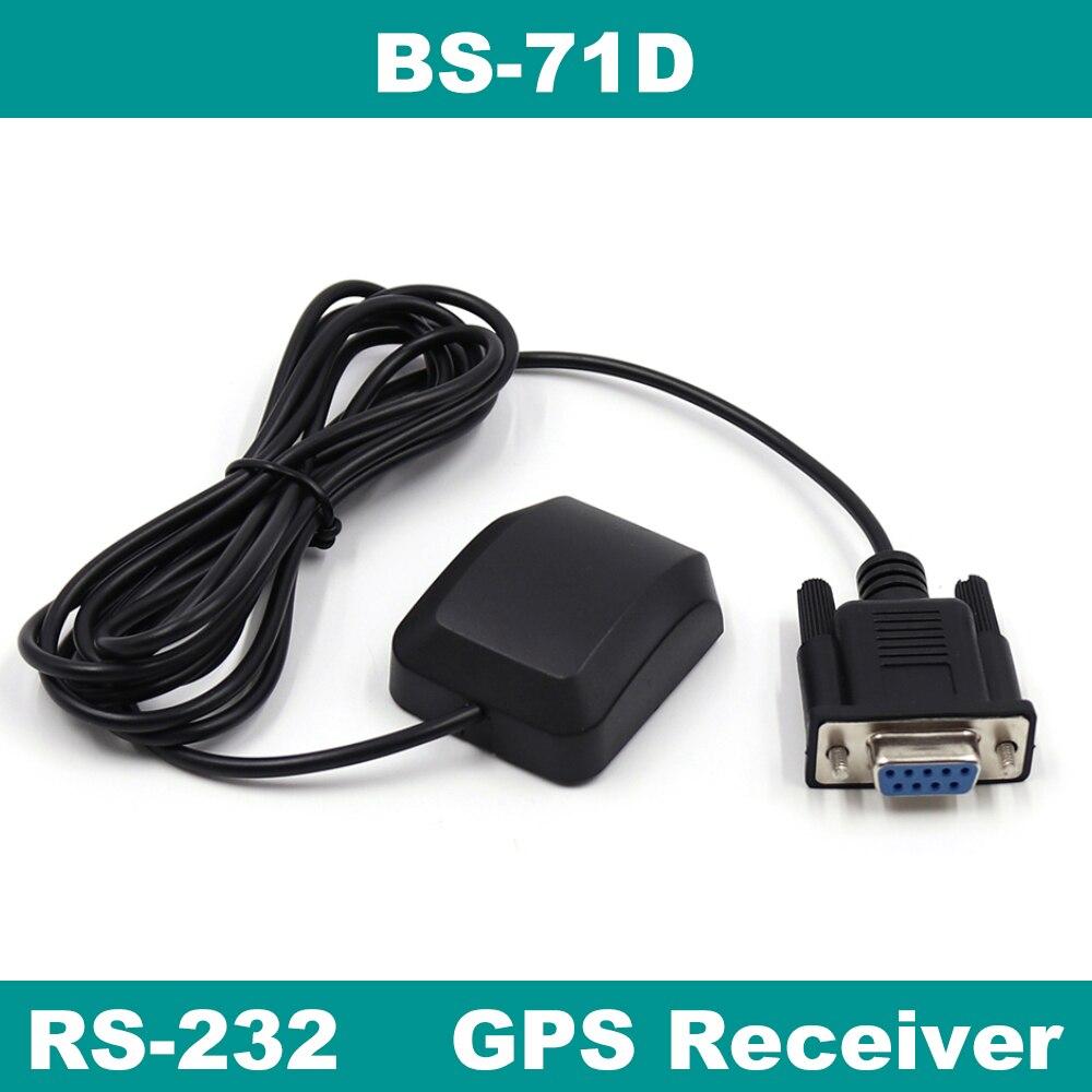 BEITIAN, 5,0 V RS-232 DB9 гнездовой разъем GPS приемник, 9600bps, протокол NMEA-0183, 4M вспышка, BS-71D