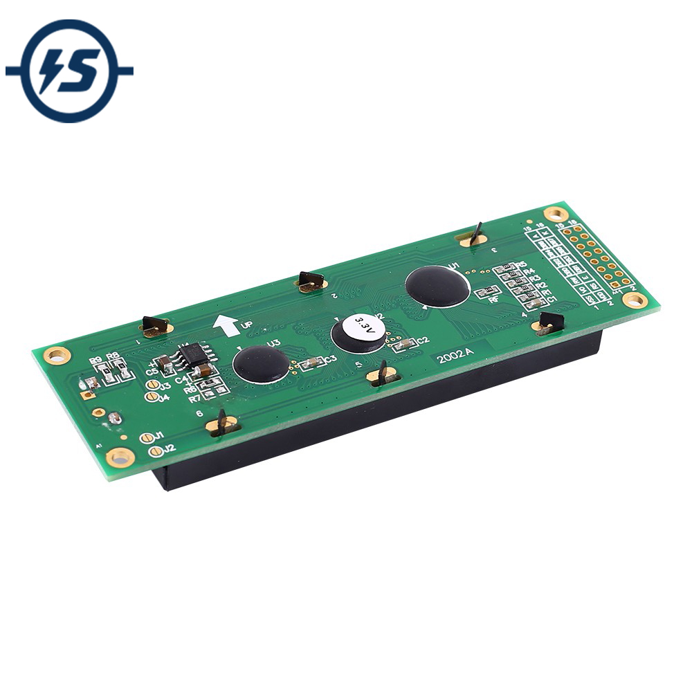 LCD2002 LCD Display Module White Character Blue Background Dot Matrix 20x2 Screen SPLC780C Driver DC 3.3V
