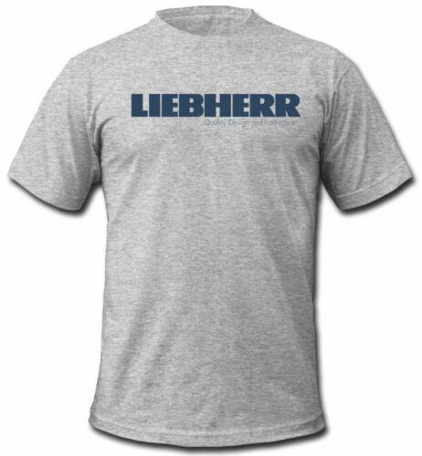 Liebherr Group Mining Cranes T-shirt