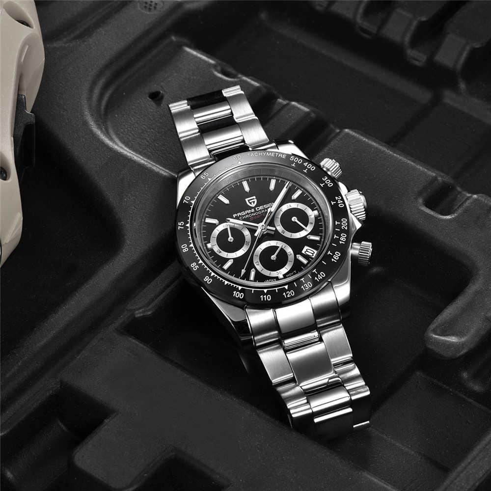 PAGANI 2019 nouvelle montre à Quartz pour hommes montre de luxe pour hommes montre étanche pour hommes Relogio Masculino