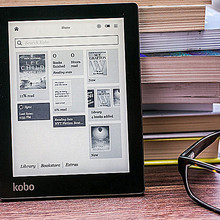 Электронная книга Kobo Aura ebook reader e-ink светильник e Book Reader WiFi 4G ereader onyx boox экономичный, чем Kindle eink edition 1