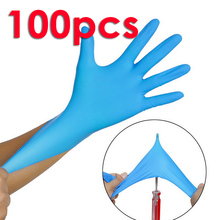 Disposable latex rubber gloves household cleaning experiment catering Safe Gloves Restaurant Kitchen Eco-friendly universal catering business