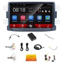 8 дюймов Android 8 1G+ 16G Автомобильный Радио плеер Wifi+ BT gps навигация для Renault LOGAN Dacia