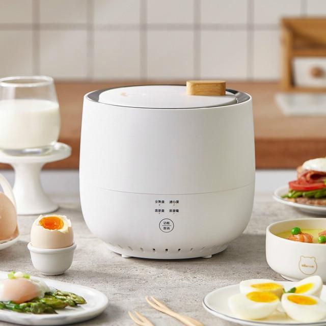 220V Electric Egg Cooker Household Breakfast Maker Multi Egg Custard/Hotspring Egg/Poached Egg/Boiled Egg Steaming Cooker 1