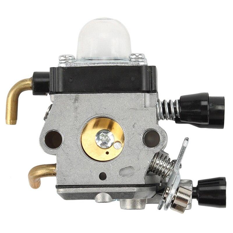 Nrpfell Kit de Carburador de 1 Juego para FS38 FS45 FS46 FS55 KM55 FS85 Junta de Filtro de Combustible de Aire Carb Accesorio de Herramienta El/éCtrica