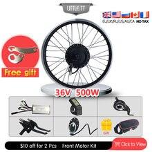 36v 500w электрический велосипед конверсионный комплект бесщеточная