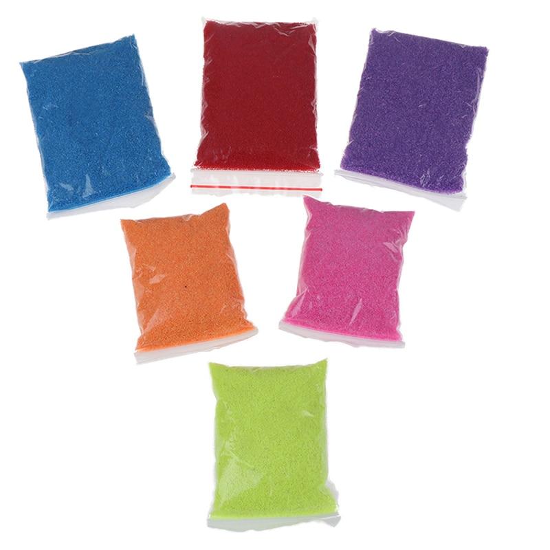 חדש 100 גרםשקית DIY לא רטוב קסם חול שאינו רעיל חול חינוכי לקיד מתנות