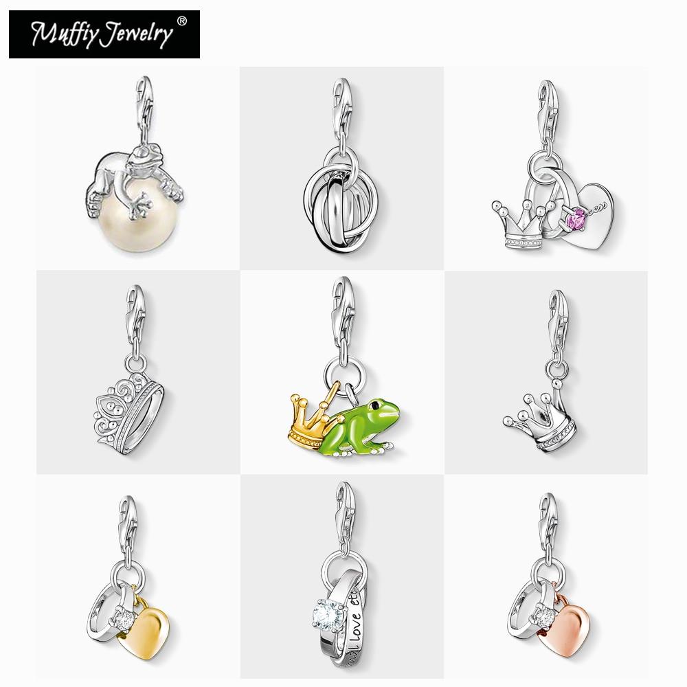 Verde sapo príncipe anel charme, 2020 jóias de moda para mulheres meninas masculino menino vintage presente em 925 prata esterlina ajuste saco pulseira