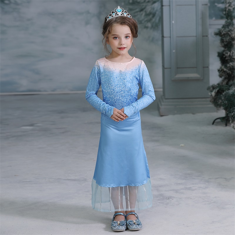 Hfc6dc9db44f44056a53f05bad7dda7aaP 2019 Children Girl Snow White Dress for Girls Prom Princess Dress Kids Baby Gifts Intant Party Clothes Fancy Teenager Clothing
