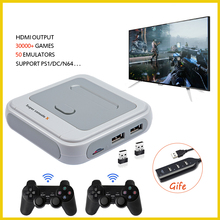 Support 50-Emulators 41000-Games Retro Mini Tv/video-Game-Console Hdmi-Out Wireless-Gamepad