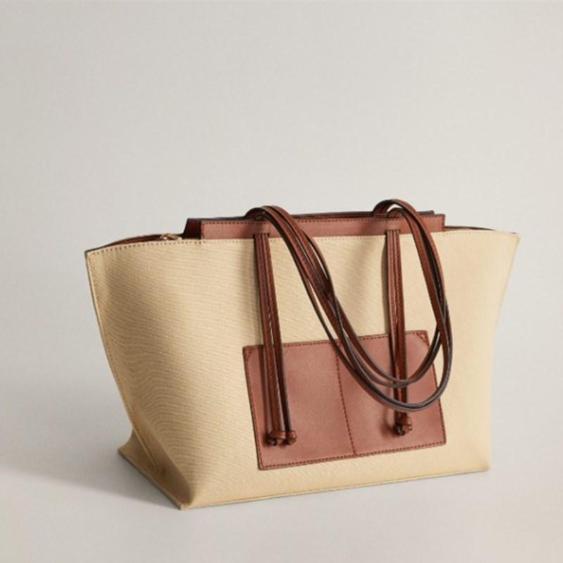 Bags for Women 2021 Canvas Shopping Bag Handheld Large Capacity Large Bag Tote Bag Shoulder Luxury Handbags Women Bags Designer