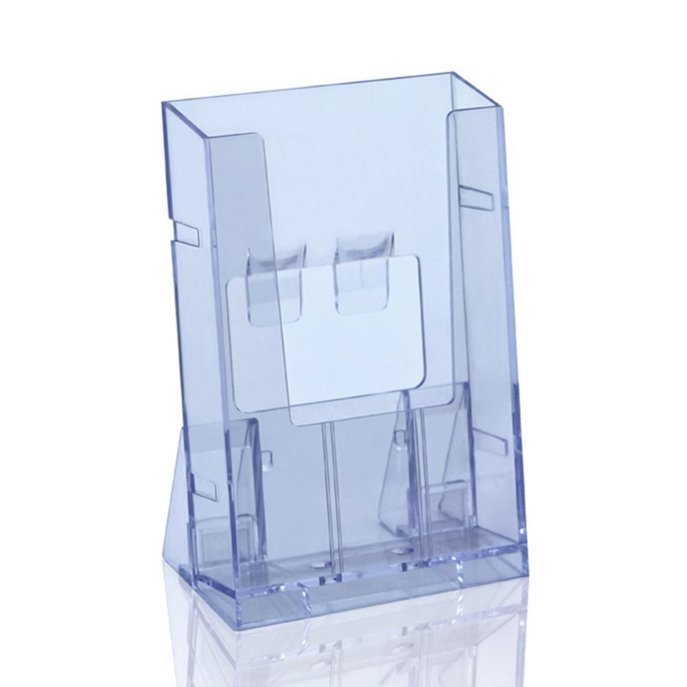 Office Display Clear Acrylic Business Transparent Card Brochure Stand Holder Holder Desk Pamphlet Paper Display X7B7