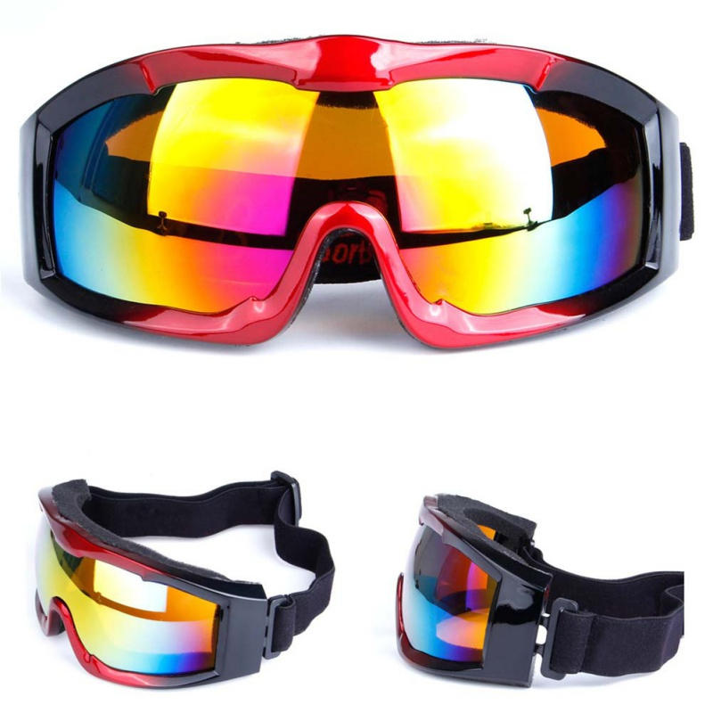 1pcs Winter Windproof Skiing Glasses Goggles Outdoor Sports Cs Glasses Ski Goggles Dustproof Moto Cycling Sunglasses