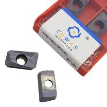 Di alta qualità APMT1604 M2 MP1025 Inserto In Metallo Duro Fresatura Utensile di Tornitura Lama APMT 1604 CNC Tornio Utensili Da Taglio Per BAP400R