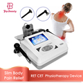 Tecar Therapy Physiotherapy Diathermy Slimming Machine Monopolar RF RET CET Body Shape Face Lift Fatigue Pain Relief Equipment