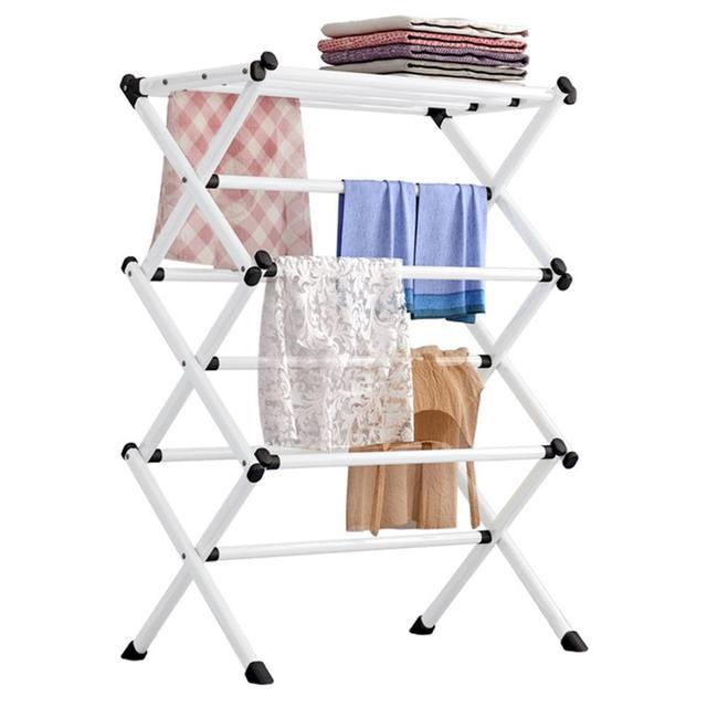 RU entrepôt porte-serviettes porte-manteau plancher cintre stockage garde-robe vêtements support de séchage porte