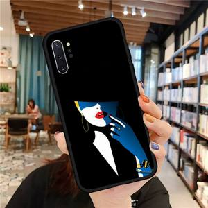 Image 3 - Noble fashion style women Phone Case For Samsung A50 A51 A71 A20E A20S S10 S20 S21 S30 Plus ultra 5G M11 funda cover