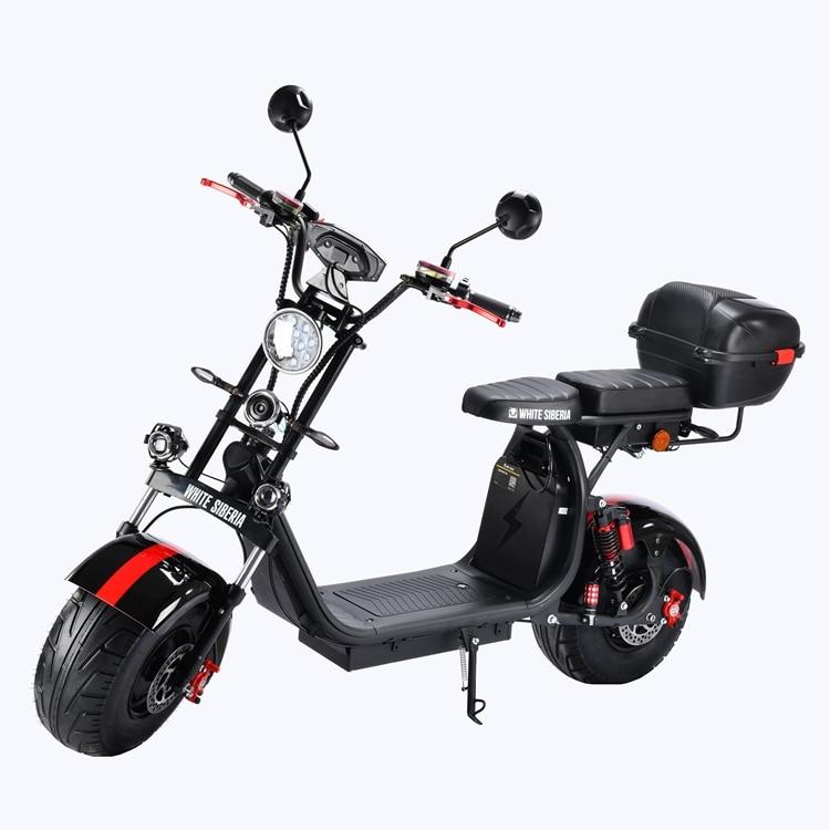 Электрический скутер Citycoco, 4000 Вт, 21 Ач/42 Ач, российский склад, от двери до двери, электрический мотоцикл, система сигнализации 60 в, электричес...