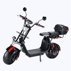 Citycoco 4000W Electric Scooter 21ah/42ah Russian Warehouse Door To Door Electric Motorcycle 60V Alarm System Electric Scooters