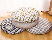 Cotton-linen Thickening Cushion Large-size Art Tea throw pillows cushion for decoration,hotel,bedroom