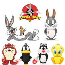XIWANG 100% Real Capacity Mini Cute Rabbit Flash Drive High Speed 2.0 4GB 8GB 16GB 32GB 64GB USB U Disk pendrive Gift Lanyard