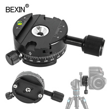 Camera Quick Release Clamp 360 Degree Rotate Mount Clamp Dslr Base Plate Adapter For tripod ball head Arca Swiss Clamp