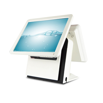 pos system touch screen 1618 dual screen pos machine for coffee