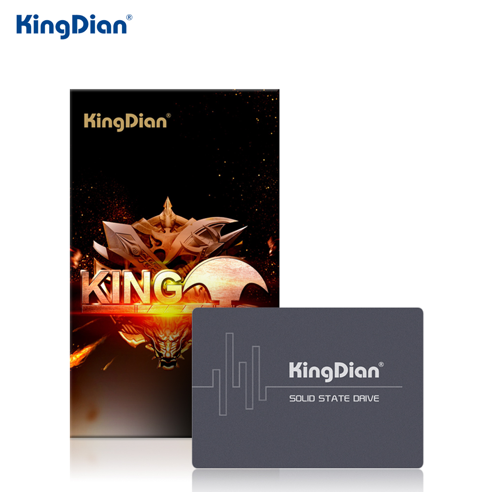 KingDian SSD 2TB SATA SATAIII 2.5'' SSD HDD Hard Disk Internal Solid State Drives For Laptop Desktop S280