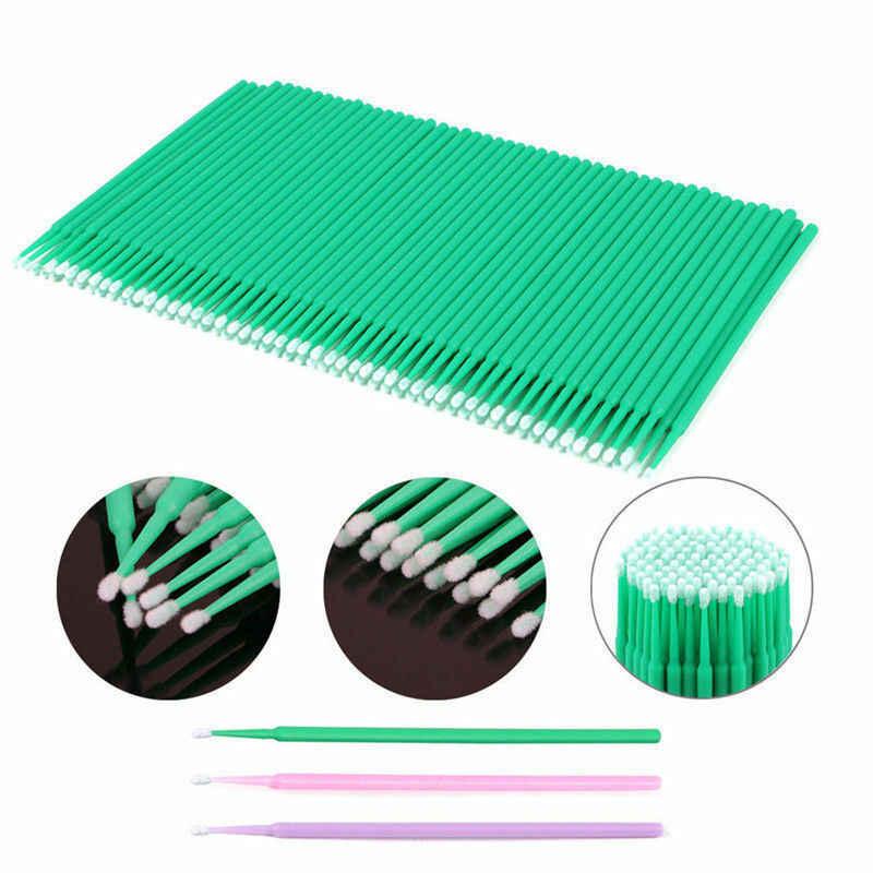 Duurzaam Micro Wegwerp Wimper Extension Make Borstels Individuele Applicators Mascara Verwijderen Gereedschap Multifunctionele Levert
