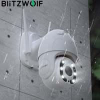 Blitzwolf 1080P Wifi IP Kamera Im Freien Sicherheit PTZ Überwachung Kamera Menschlichen Bewegung Anerkennung Nacht Vision Arbeitet mit Alexa