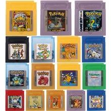 16 Bit Trò Chơi Hộp Mực Tay Cầm Thẻ Chọc Loạt Phiên Bản Tiếng Anh Cho Máy Nintendo GBC