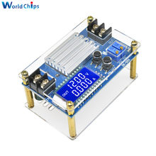 5a intensifique o módulo ajustável do carregador de bateria 80w dc 9-45v a 11-50v do lcd da corrente de tensão constante do conversor do impulso DC-DC