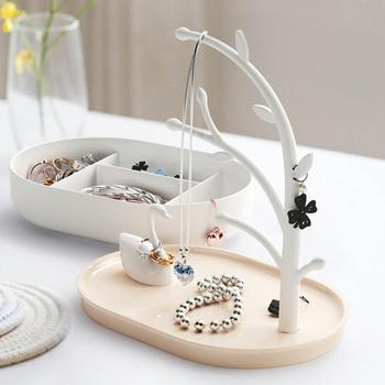 Women Jewelry Box Swan Lake Jewelry Organizer Ring Earring Necklace Dispaly Holder Storage Box Birthday Gift for women peace dove jewelry box gift box peace bird girls gift box packaging organizer earring holder
