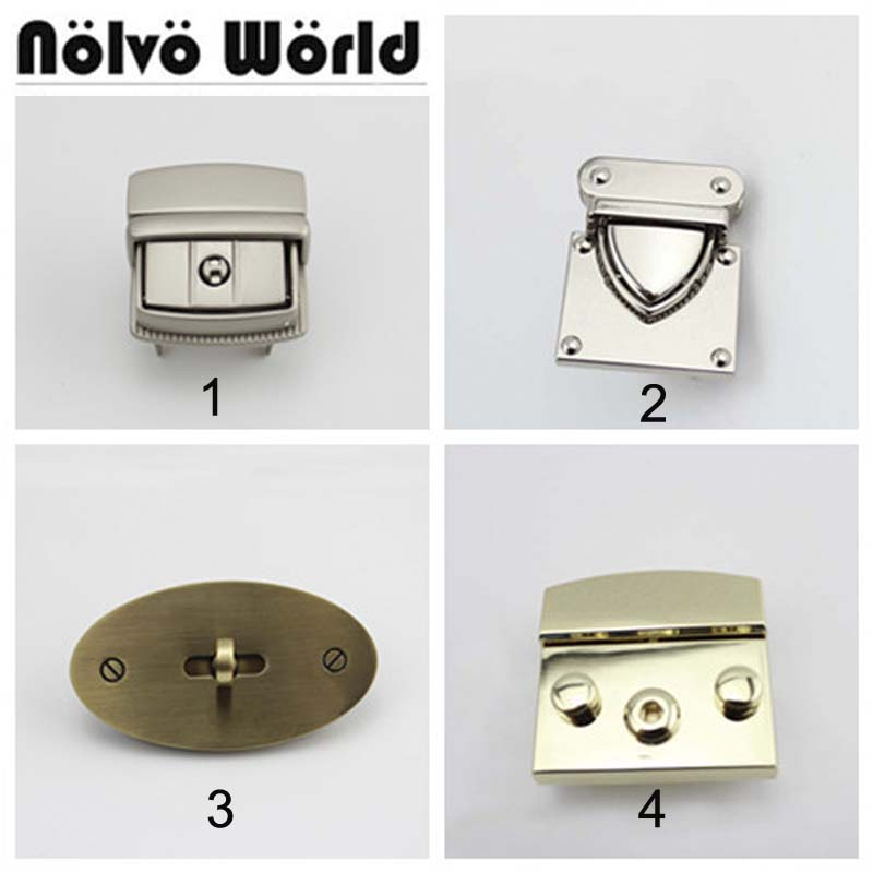 18 New LOCKS Replace,Only 1 Piece Lock Repair Your Bag,Lock For Saving Women Handbags,repair Man Briefcase Bags Purse